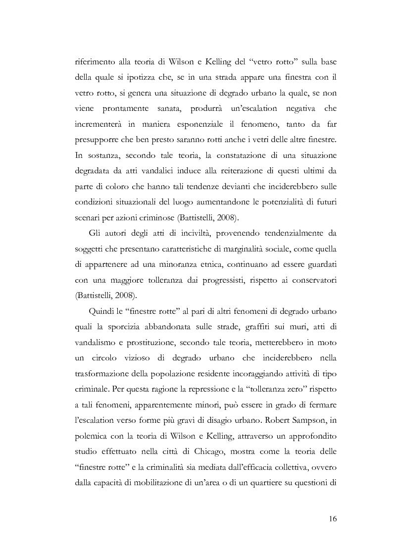 Anteprima della tesi: Benvenuti a Sezze Rumeno - Politiche di sicurezza e immigrazione nel comune di Sezze Romano, Pagina 12