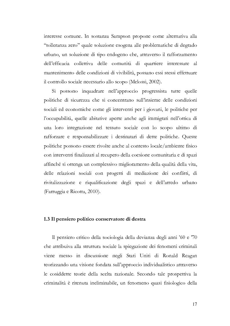 Anteprima della tesi: Benvenuti a Sezze Rumeno - Politiche di sicurezza e immigrazione nel comune di Sezze Romano, Pagina 13