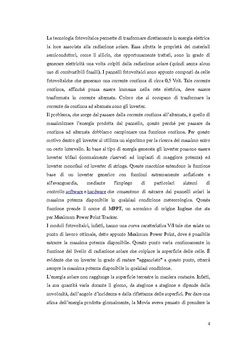 Anteprima della tesi: Tecniche di comunicazione tra dispositivi di sensistica e server centrale per impianti fotovoltaici, Pagina 3