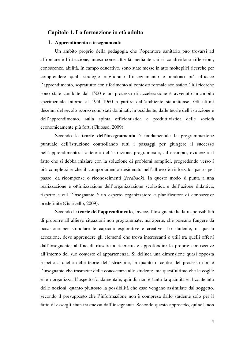 Anteprima della tesi: Strategie di formazione nel rapporto tutor-studente, Pagina 4