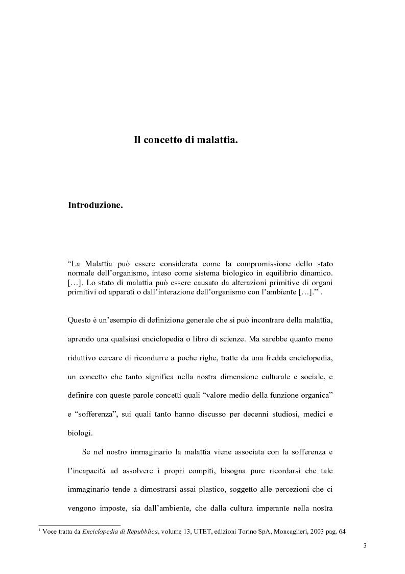 Anteprima della tesi: Il concetto di malattia nelle opere di Goldstein e Canghuilem, Pagina 2