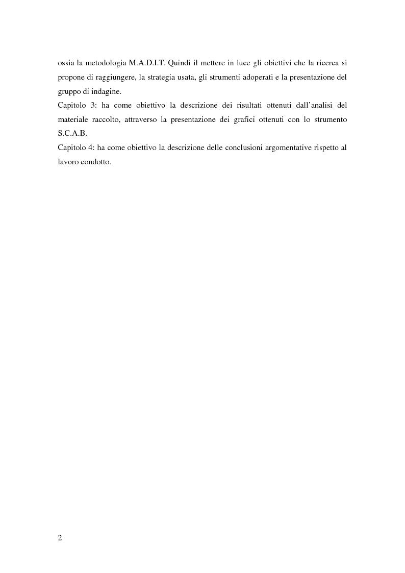 Anteprima della tesi: La teoria dell'identità dialogica e il tifoso calcistico: analisi delle produzioni discorsive dei tifosi dell'Atalanta.  , Pagina 3