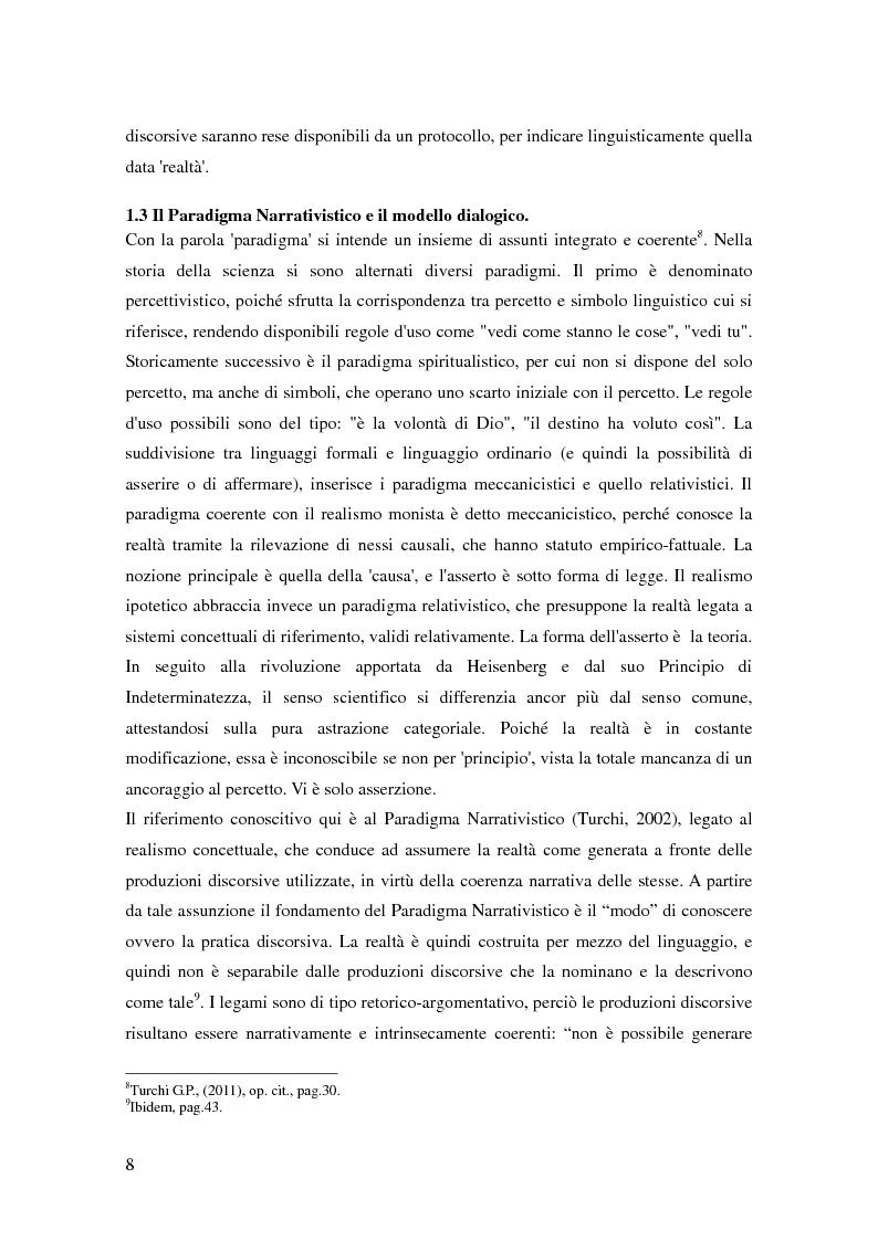 Anteprima della tesi: La teoria dell'identità dialogica e il tifoso calcistico: analisi delle produzioni discorsive dei tifosi dell'Atalanta.  , Pagina 9