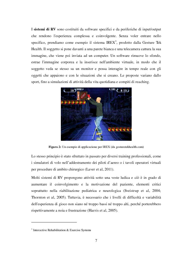 Anteprima della tesi: La Console Nintendo Wii® Nella Riabilitazione Di Pazienti Neurologici Adulti. Revisione Sistematica Della Letteratura, Pagina 4