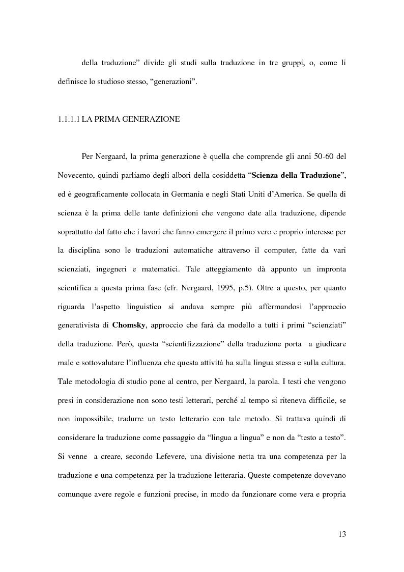 Anteprima della tesi: I Corpora Linguistici per la Traduzione: Un'Analisi del T.E.C., Pagina 6