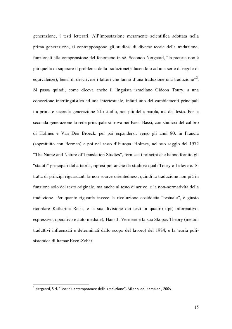 Anteprima della tesi: I Corpora Linguistici per la Traduzione: Un'Analisi del T.E.C., Pagina 8