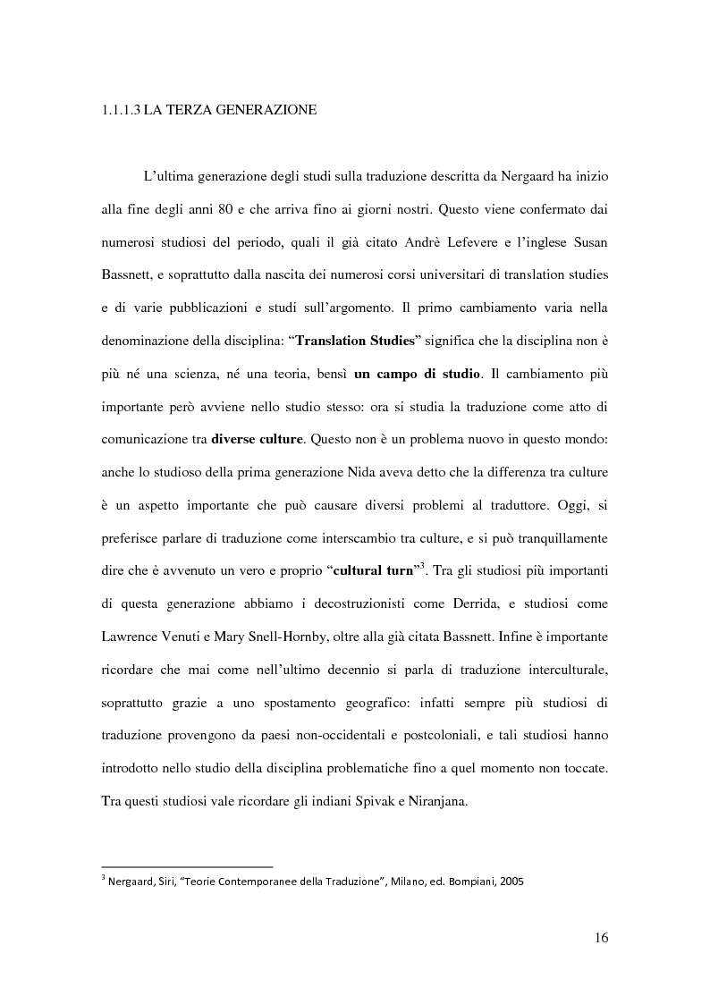 Anteprima della tesi: I Corpora Linguistici per la Traduzione: Un'Analisi del T.E.C., Pagina 9