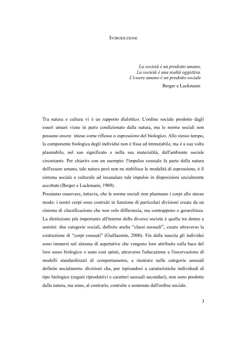 Anteprima della tesi: ''The embodiment of gender'': il corpo della donna da oggetto a strumento di azione, Pagina 2