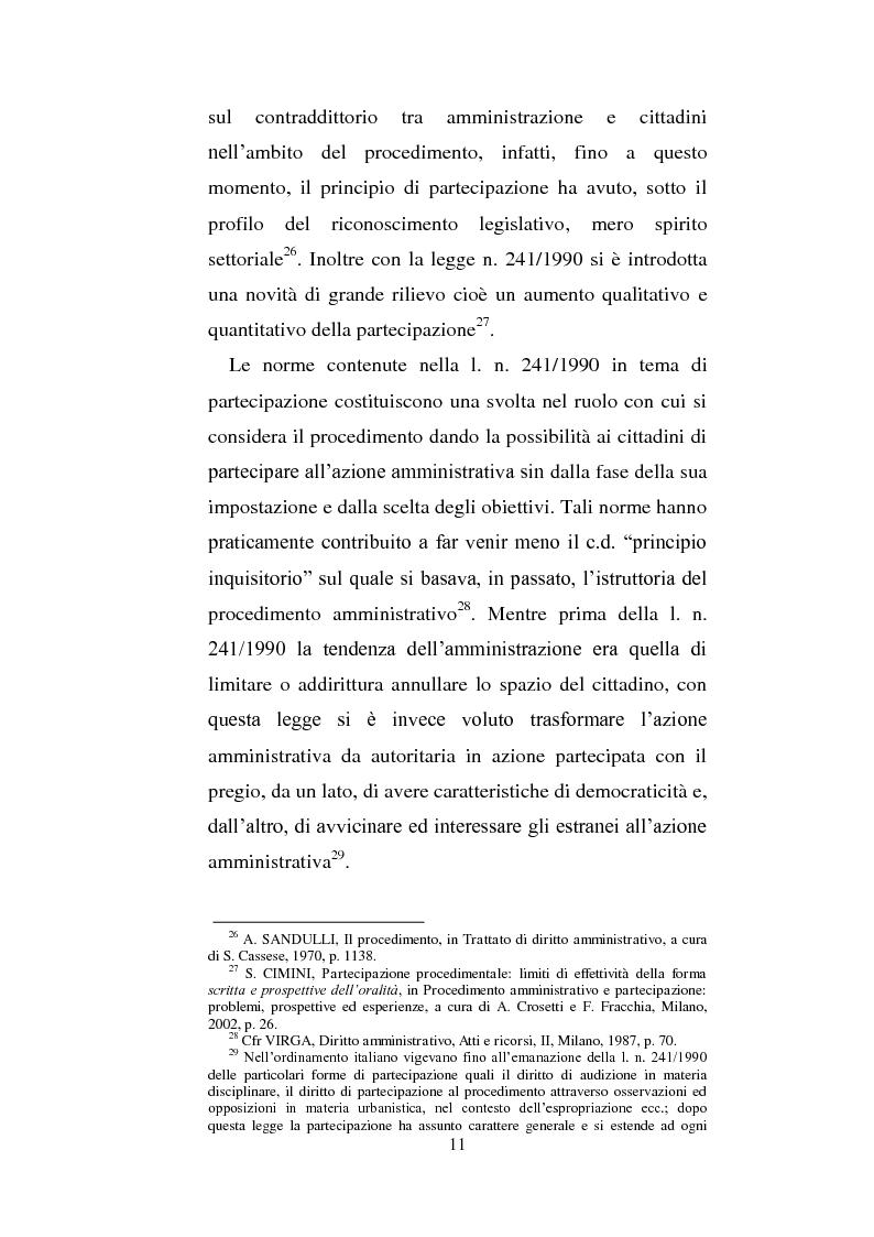 Anteprima della tesi: La partecipazione dei cittadini nel governo del territorio, Pagina 12