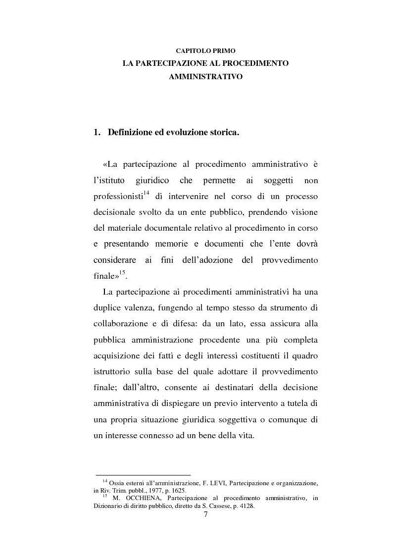 Anteprima della tesi: La partecipazione dei cittadini nel governo del territorio, Pagina 8