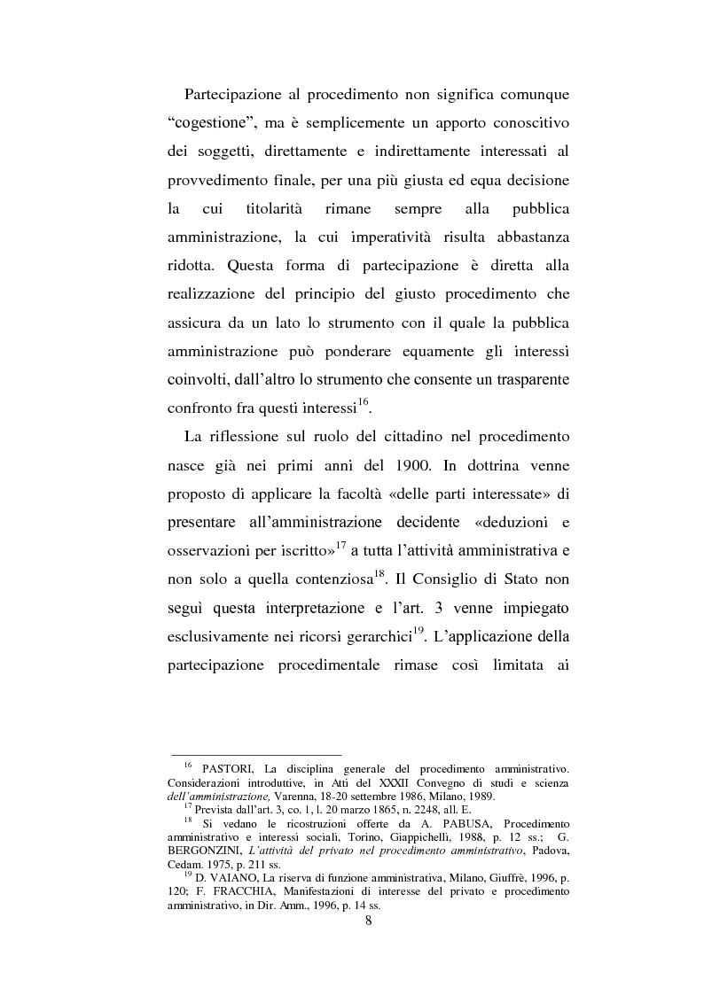 Anteprima della tesi: La partecipazione dei cittadini nel governo del territorio, Pagina 9