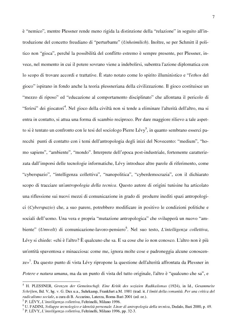 Anteprima della tesi: Ambiente, eccentricità e nuovi spazi antropologici, Pagina 4