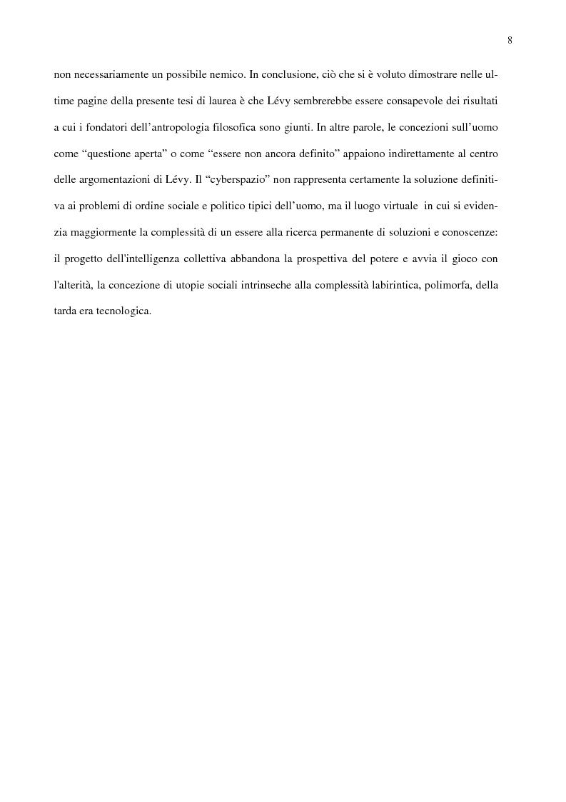 Anteprima della tesi: Ambiente, eccentricità e nuovi spazi antropologici, Pagina 5