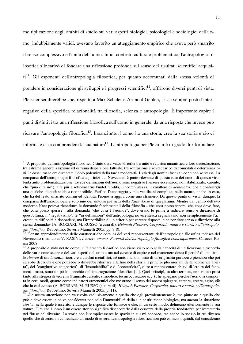 Anteprima della tesi: Ambiente, eccentricità e nuovi spazi antropologici, Pagina 8