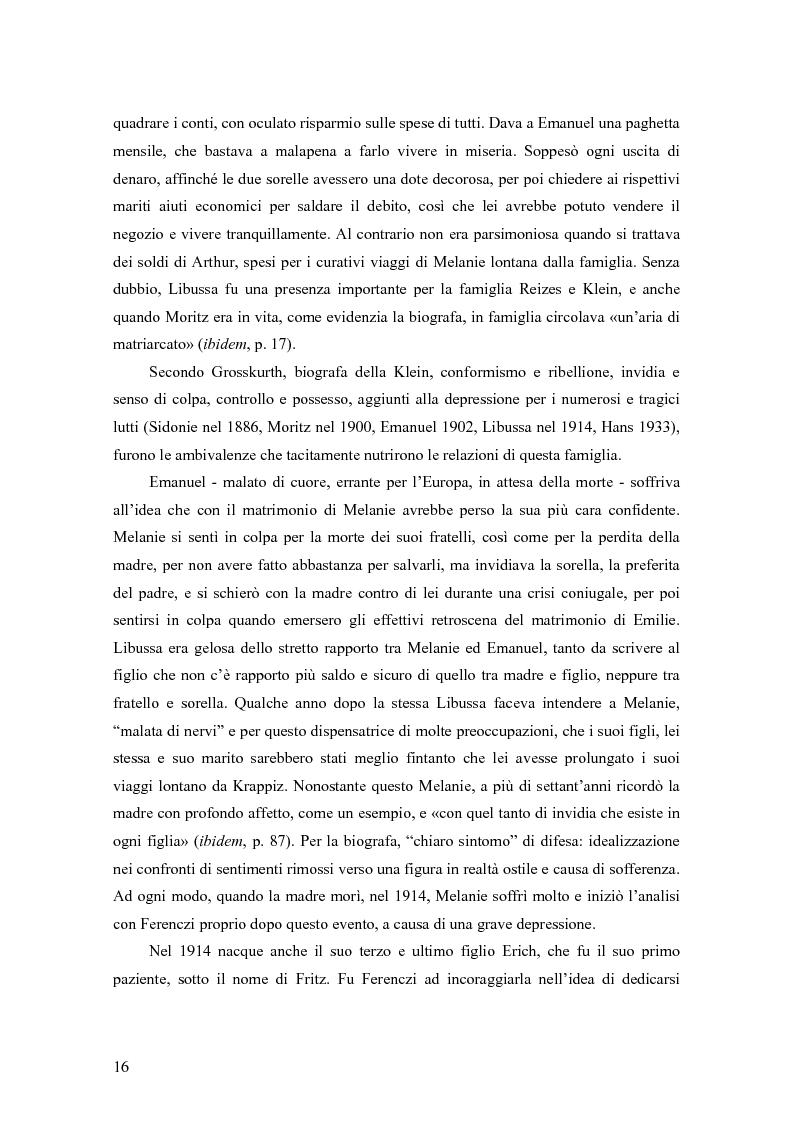 Anteprima della tesi: Identificazione proiettiva, double bind, schizofrenia, Pagina 10