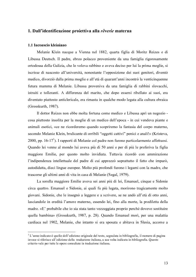 Anteprima della tesi: Identificazione proiettiva, double bind, schizofrenia, Pagina 7