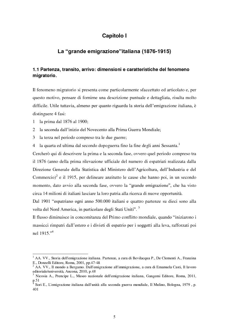 Anteprima della tesi: La comunicazione museale nel recupero dell'identità migratoria. Il museo Galata di Genova., Pagina 4