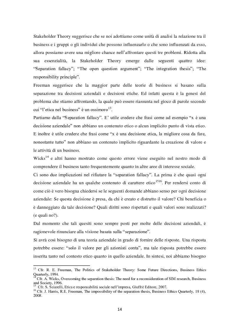 Anteprima della tesi: Il sistema di reporting della sostenibilità: il bilancio e gli indici di sostenibilità, Pagina 12