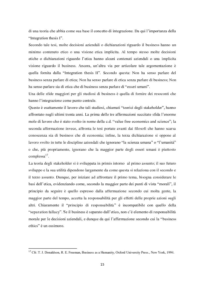 Anteprima della tesi: Il sistema di reporting della sostenibilità: il bilancio e gli indici di sostenibilità, Pagina 13
