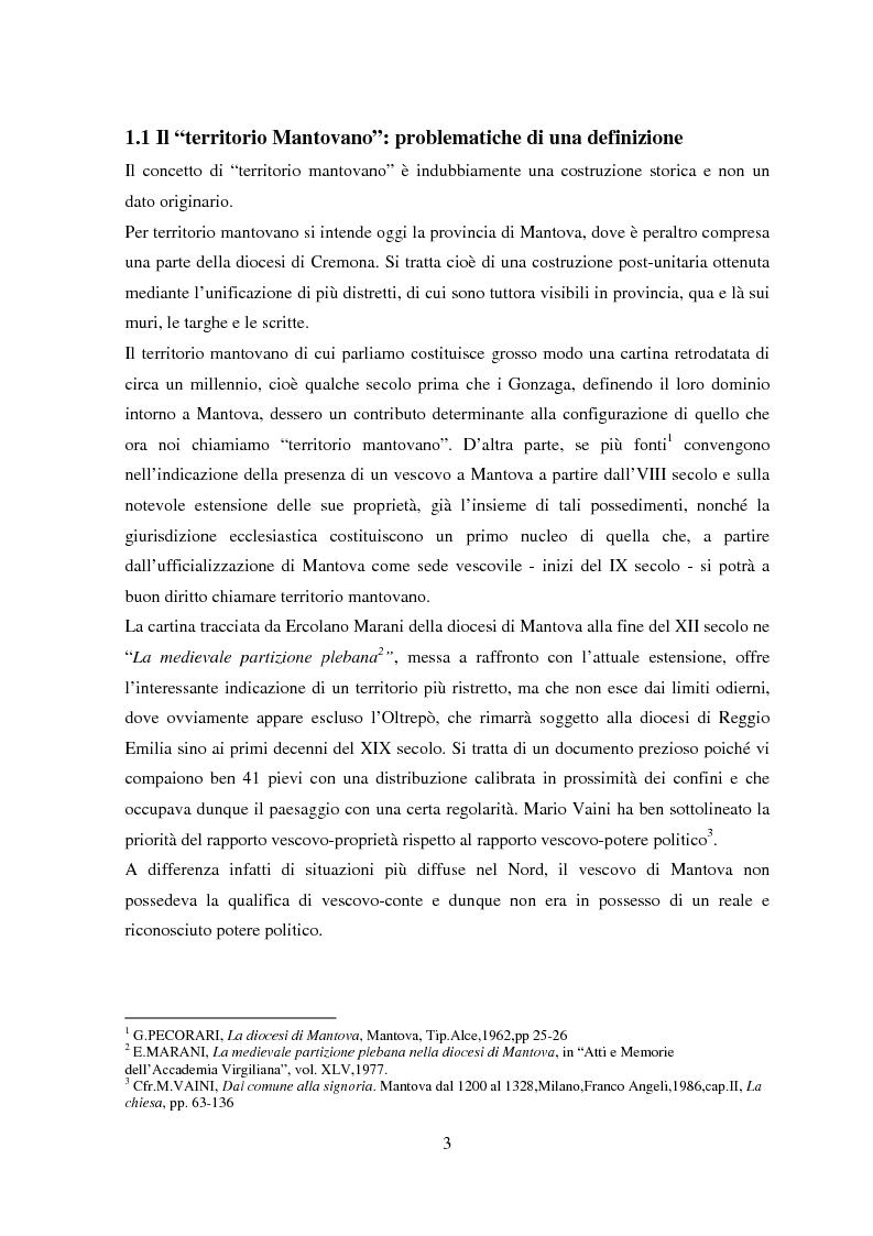 Anteprima della tesi: Storia e Archeologia del territorio Mantovano tra VII e XI secolo, Pagina 8