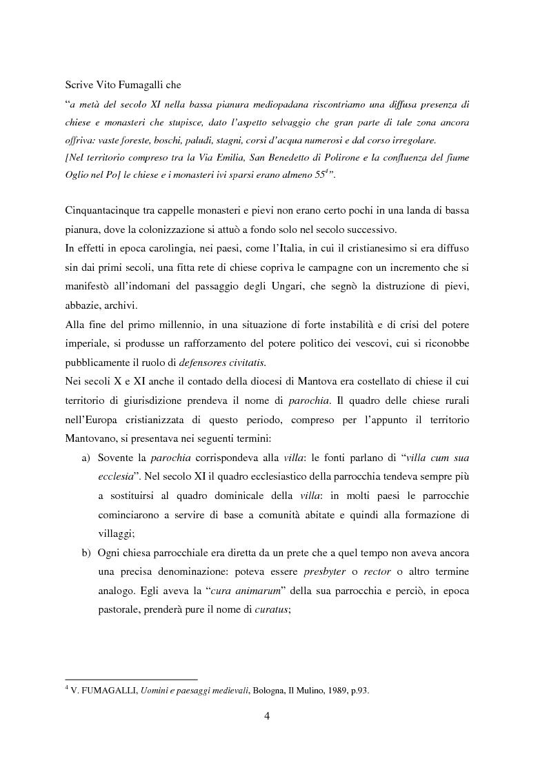 Anteprima della tesi: Storia e Archeologia del territorio Mantovano tra VII e XI secolo, Pagina 9