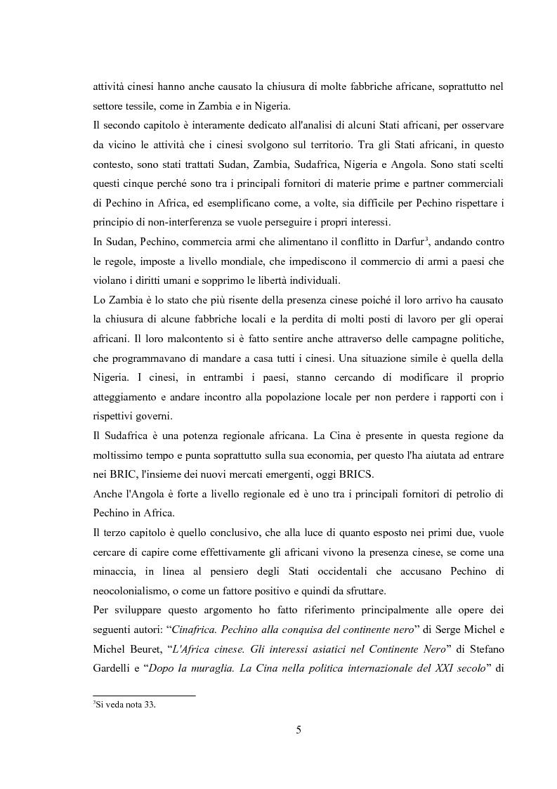 Anteprima della tesi: Politica estera e strategie commerciali della RPC in Africa, Pagina 4