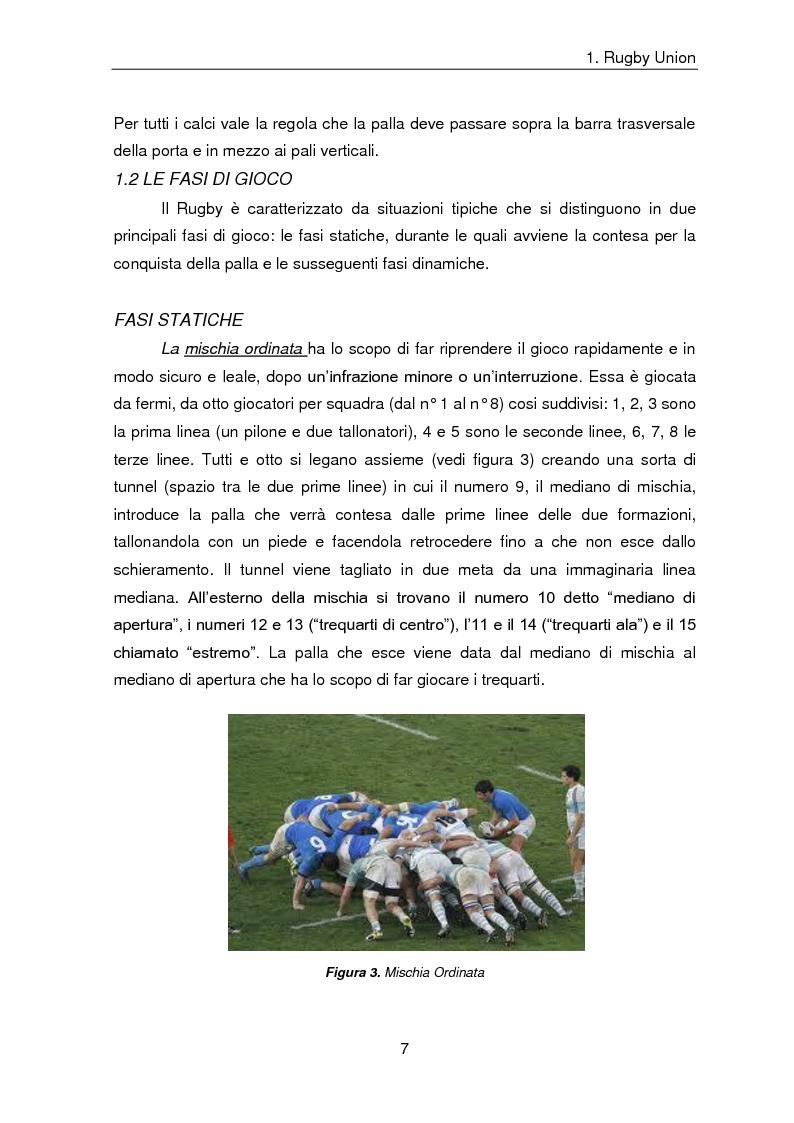 Anteprima della tesi: Indicatori comulativi del carico di lavoro in sedute specifiche di Rugby Union, Pagina 4