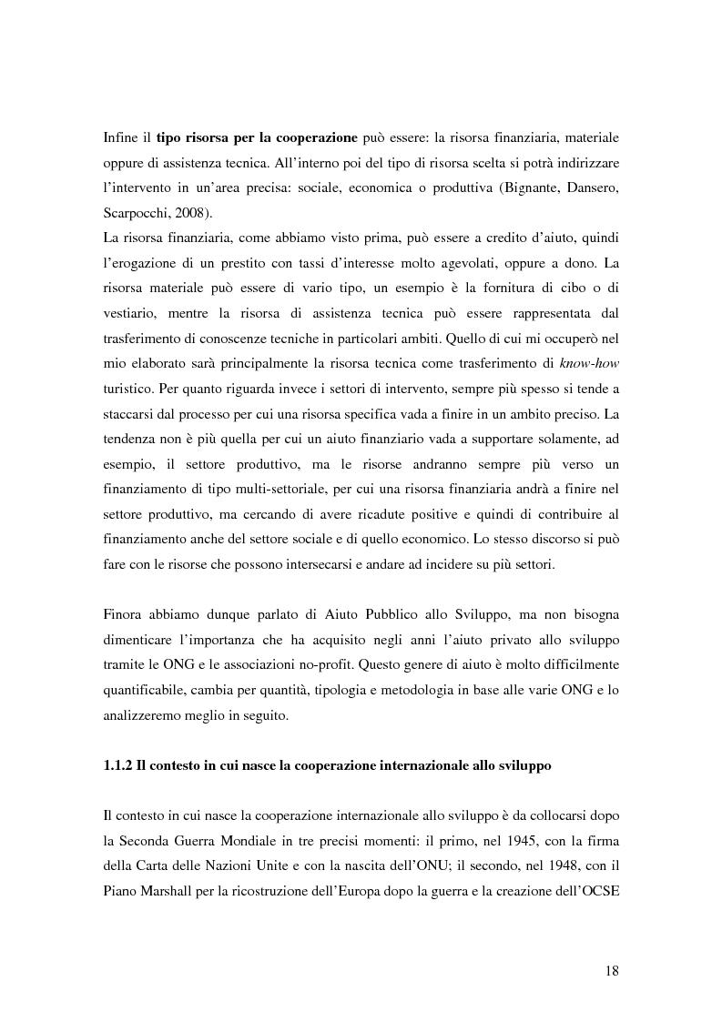 Anteprima della tesi: Il turismo responsabile come strumento per la cooperazione internazionale allo sviluppo? Il caso della Bosnia ed Erzegovina, Pagina 11