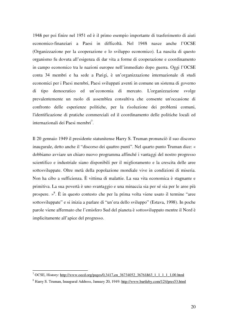 Anteprima della tesi: Il turismo responsabile come strumento per la cooperazione internazionale allo sviluppo? Il caso della Bosnia ed Erzegovina, Pagina 13
