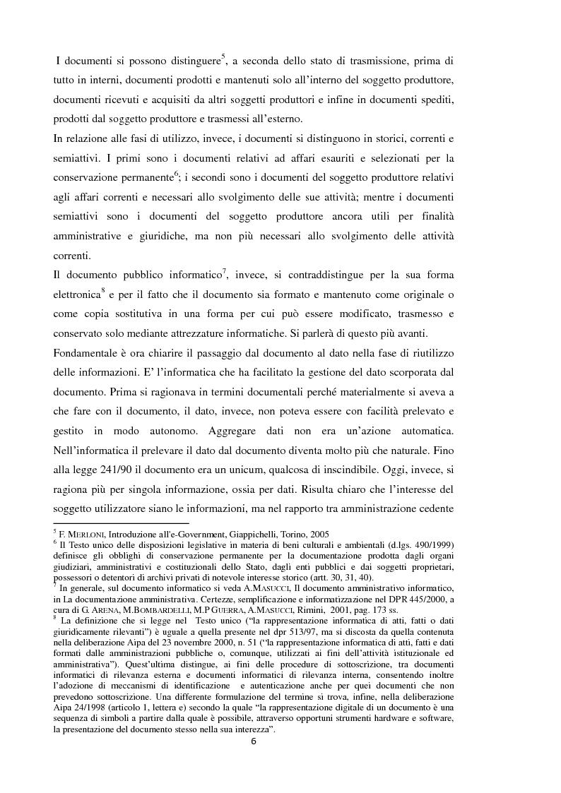 Anteprima della tesi: Open Data: l'amministrazione pubblica tra innovazione e trasparenza, Pagina 5