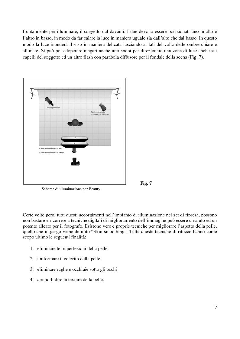 Anteprima della tesi: L'elaborazione digitale nella fotografia di moda, Pagina 6