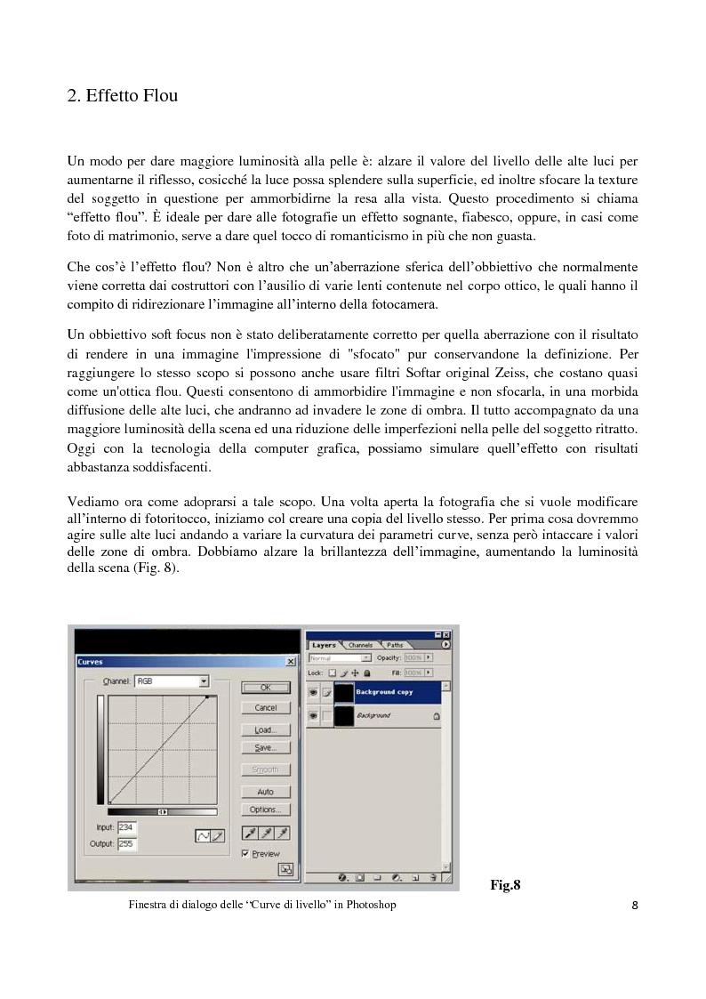 Anteprima della tesi: L'elaborazione digitale nella fotografia di moda, Pagina 7
