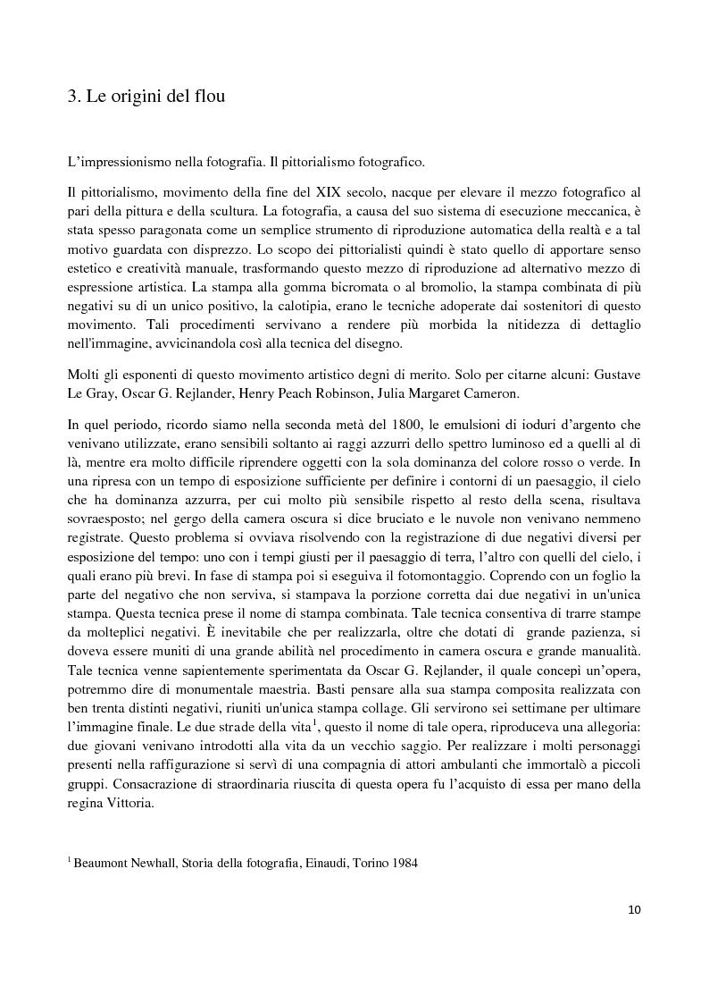 Anteprima della tesi: L'elaborazione digitale nella fotografia di moda, Pagina 9