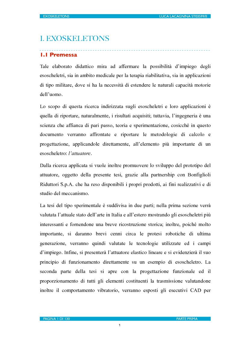 Anteprima della tesi: Exoskeletons. La nuova frontiera della Biomeccatronica per la terapia riabilitativa ed il potenziamento, Pagina 2