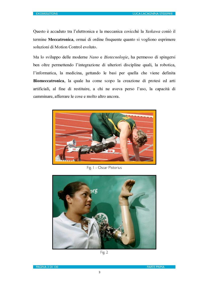 Anteprima della tesi: Exoskeletons. La nuova frontiera della Biomeccatronica per la terapia riabilitativa ed il potenziamento, Pagina 4