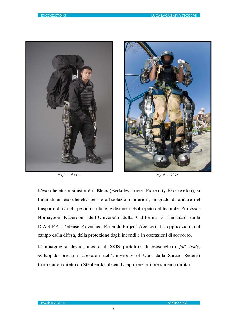 Anteprima della tesi: Exoskeletons. La nuova frontiera della Biomeccatronica per la terapia riabilitativa ed il potenziamento, Pagina 8