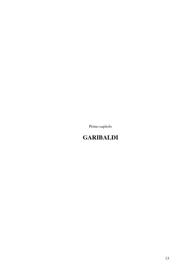 Anteprima della tesi: Memorie garibaldine nel Biellese. Cronache, testimonianze e celebrazioni nel 150° anniversario dell'Unità d'Italia, Pagina 10