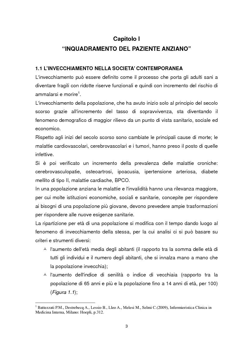 Anteprima della tesi: Dimissione protetta e continuità assistenziale: proposta di una scheda di dimissione infermieristica per il paziente anziano., Pagina 4