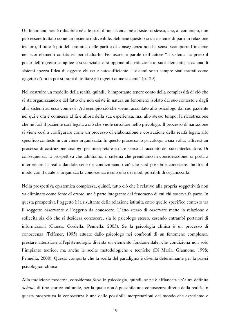 Anteprima della tesi: Disabilità e Integrazione Socio-Lavorativa -  Analisi della Rappresentazione del Cliente negli Operatori di un Centro di Riabilitazione per Persone con Disabilità Visiva, Pagina 11