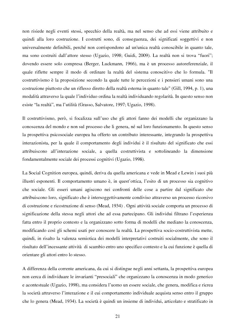 Anteprima della tesi: Disabilità e Integrazione Socio-Lavorativa -  Analisi della Rappresentazione del Cliente negli Operatori di un Centro di Riabilitazione per Persone con Disabilità Visiva, Pagina 13