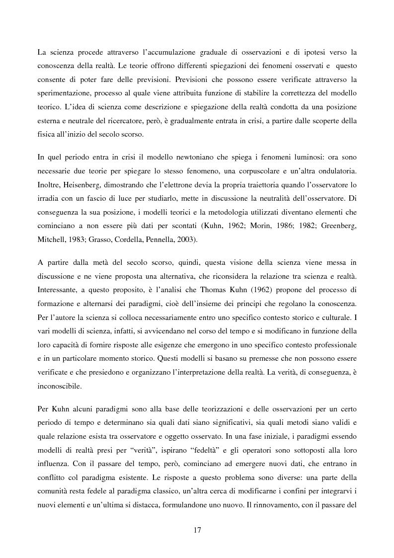 Anteprima della tesi: Disabilità e Integrazione Socio-Lavorativa -  Analisi della Rappresentazione del Cliente negli Operatori di un Centro di Riabilitazione per Persone con Disabilità Visiva, Pagina 9