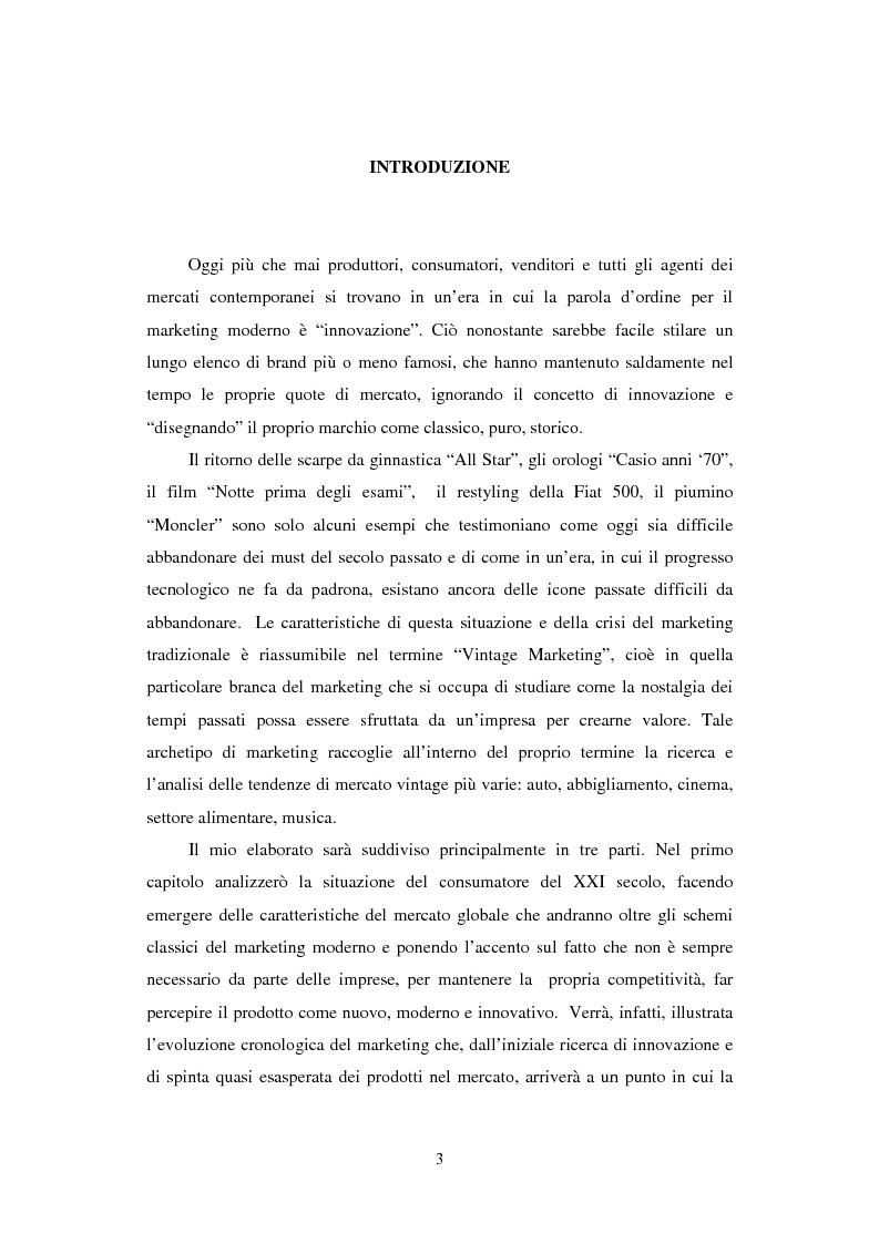 Anteprima della tesi: Mercati e Brand al Passato Remoto, Pagina 2