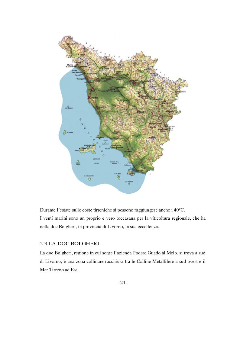 Anteprima della tesi: Risposte adattative di alcuni vitigni georgiani al pedo clima di Bolgheri (Toscana), Pagina 7
