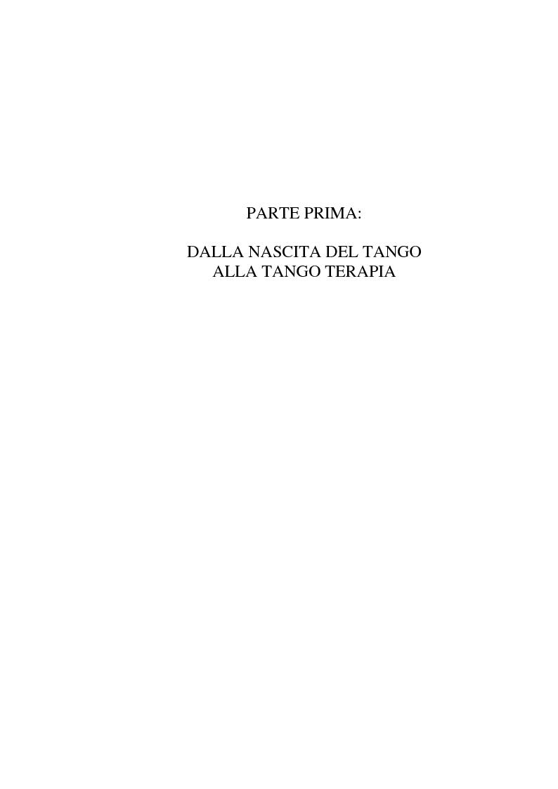 Anteprima della tesi: Tango: rituali, ruoli e codici per una formazione dal profondo. Il tango fatto uomo. Un uomo fatto tango. Intervista a un grande maestro: Oscar Benavidez, Pagina 6