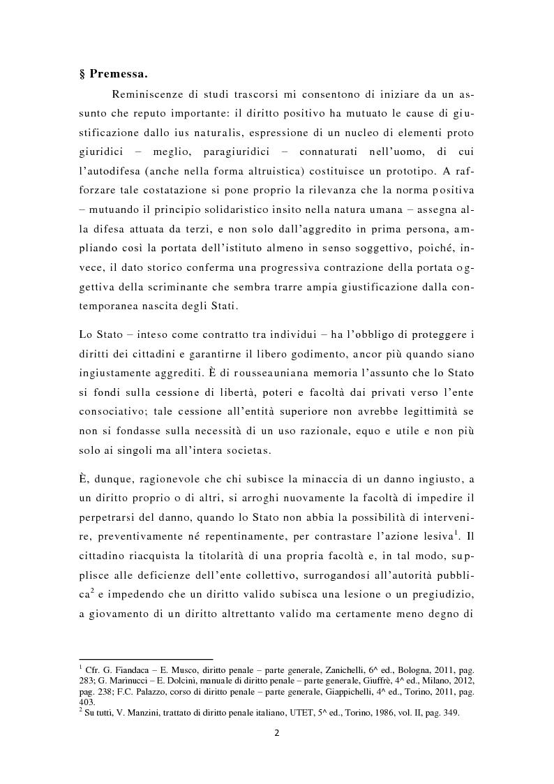 Anteprima della tesi: La nuova legittima difesa, Pagina 3