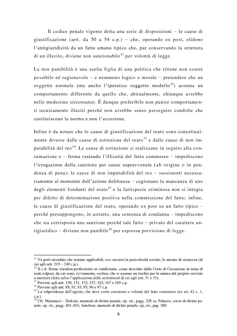Anteprima della tesi: La nuova legittima difesa, Pagina 9