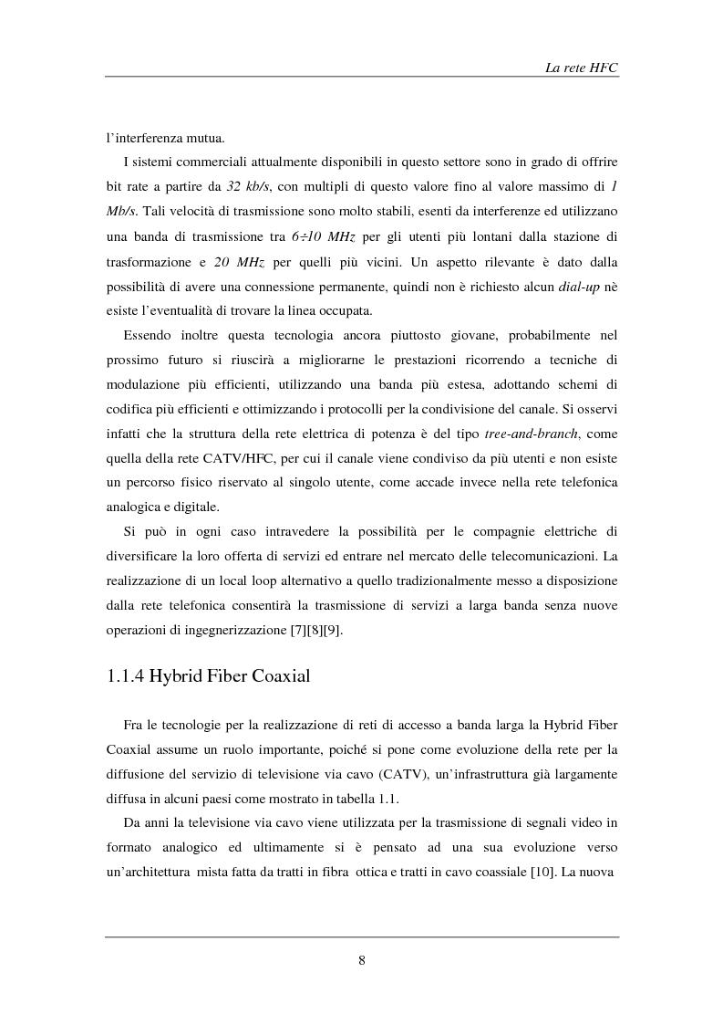 Anteprima della tesi: Tecniche avanzate di demodulazione e codifica per upstream HFC, Pagina 11