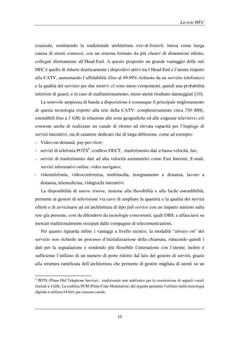 Anteprima della tesi: Tecniche avanzate di demodulazione e codifica per upstream HFC, Pagina 13