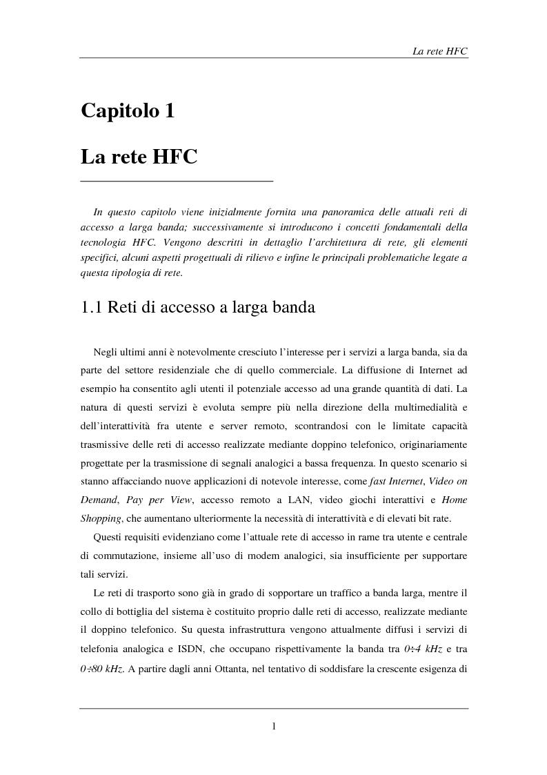 Anteprima della tesi: Tecniche avanzate di demodulazione e codifica per upstream HFC, Pagina 4