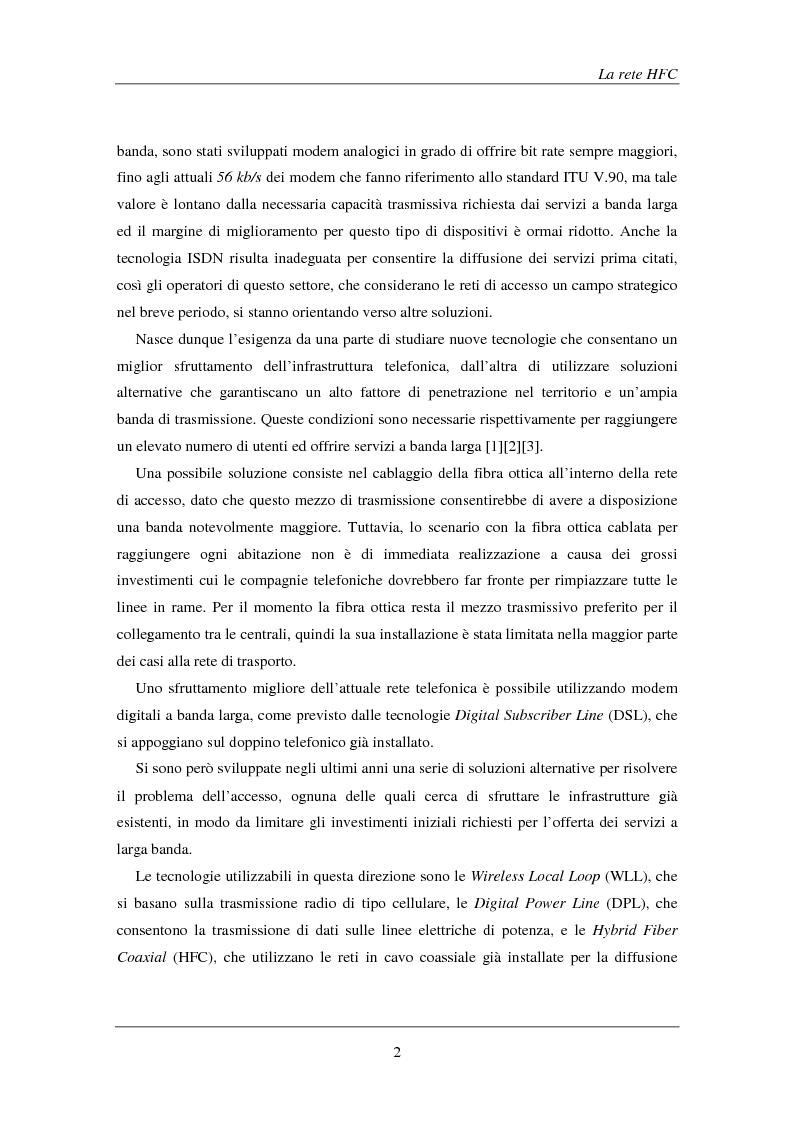 Anteprima della tesi: Tecniche avanzate di demodulazione e codifica per upstream HFC, Pagina 5